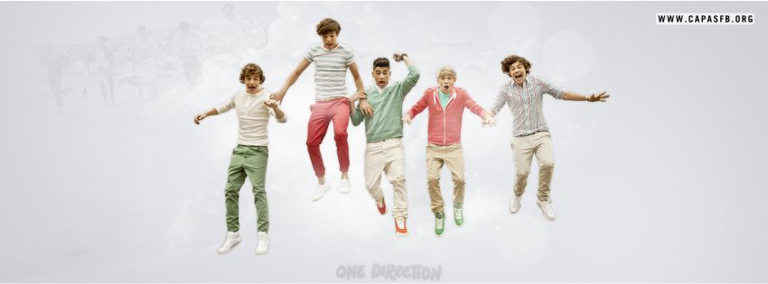 Capas para Facebook One Direction
