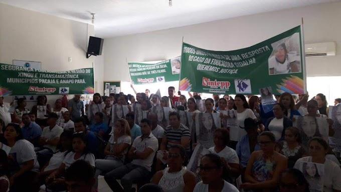 Caso Sidalha: Protestos tomam sessão do legislativo em Anapu