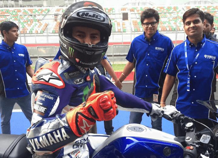 ★MotoGP216 ホルヘ・ロレンゾ「インドでもMotoGPで走りたい。」