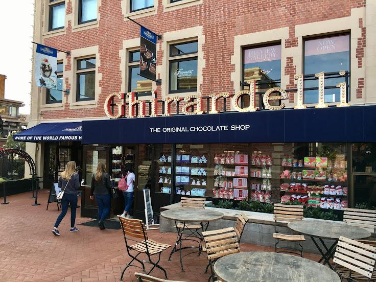 Enter the Original Chocolate Shop.