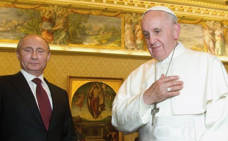Russia's warming relations with the Vatican