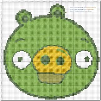 Angry Birds esquemas gratis Punto de cruz (5)