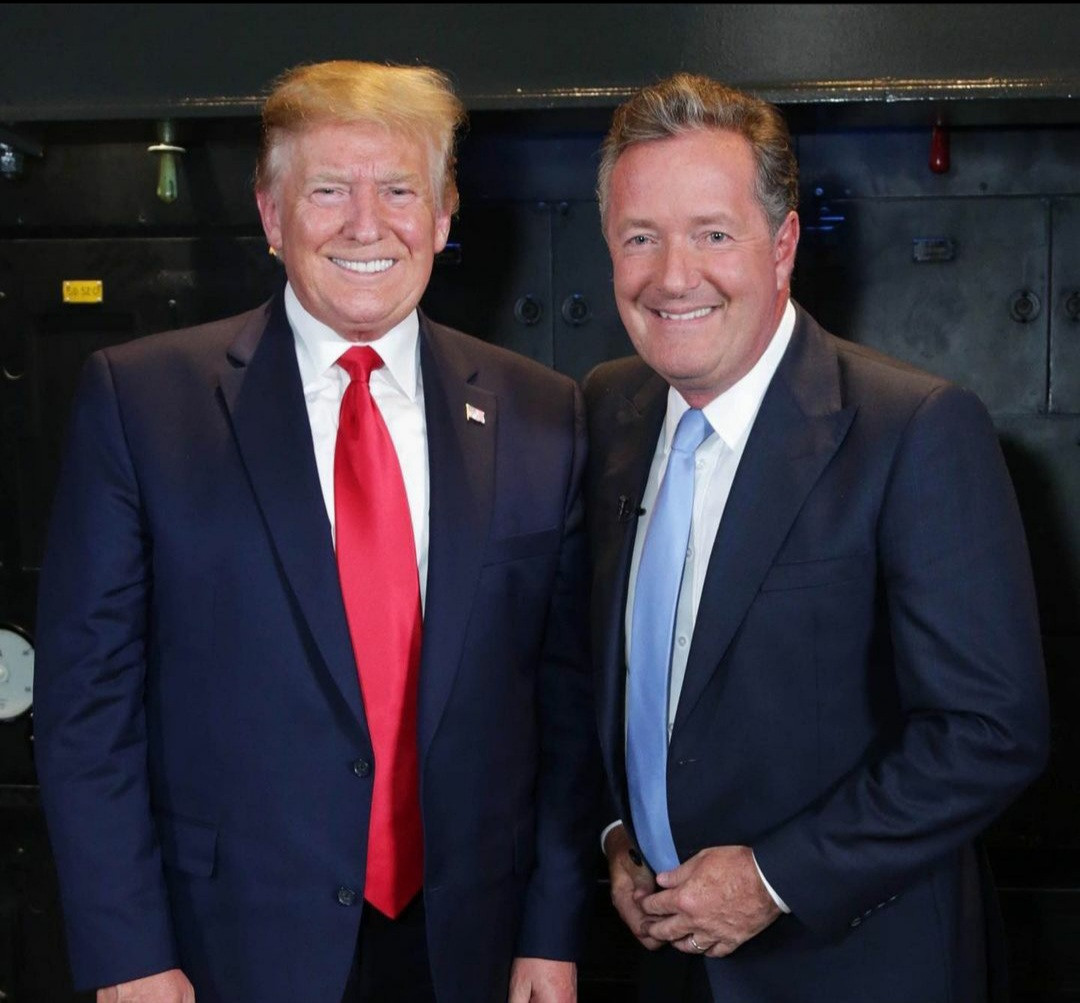 """""""Shame on you"""" Piers Morgan slams Donald Trump on his final day as the US President"""