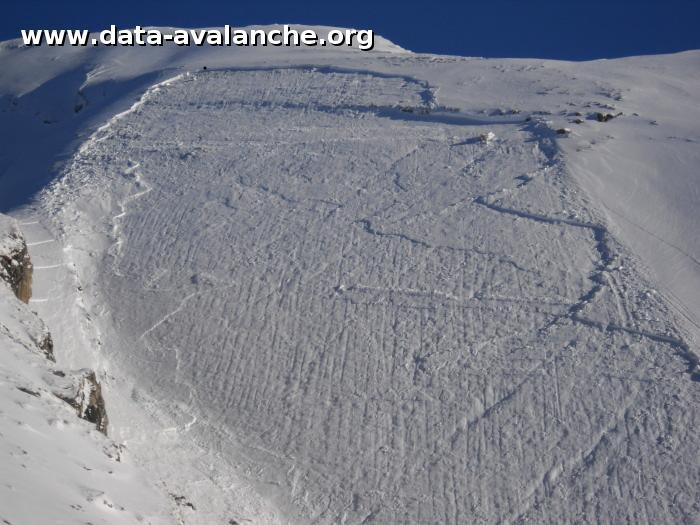 Avalanche Aravis, secteur Aiguille de Borderan, Combe de Borderan - Photo 1