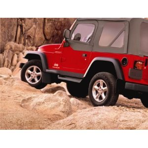 Jeep Wrangler Tj Side Steps Running Boards Molded Mopar