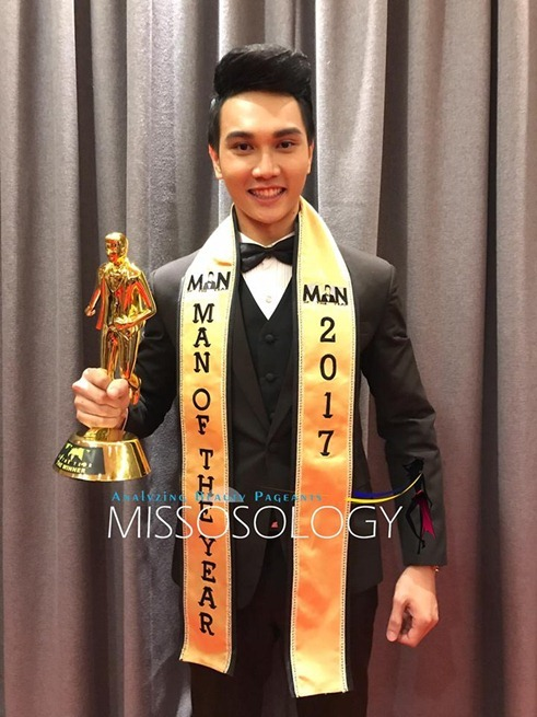 Man of the Year 2017 is Parinya Yaochueang of Thailand