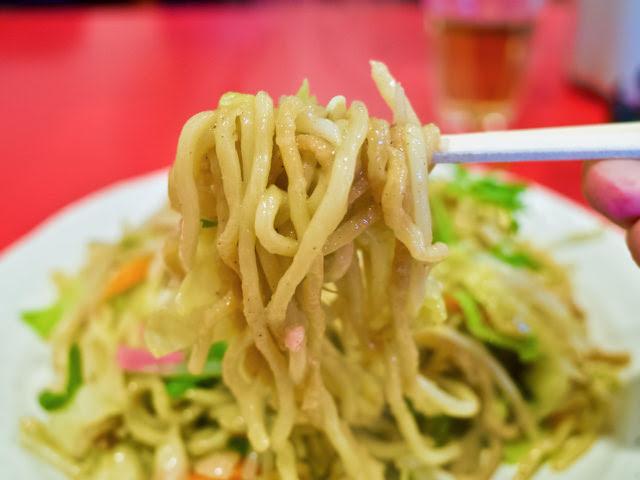 博多皿うどんの柔らかい麺