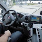 Het dashboard van de Fiat Ducato maxi van Syntus busje 506