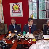 Presentación del plan de promoción del Instituto Halal - Córdoba 2003-Nov-11