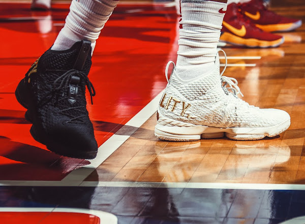LeBron James Wears AntiBum LeBron 15 Equality Kicks in Washington