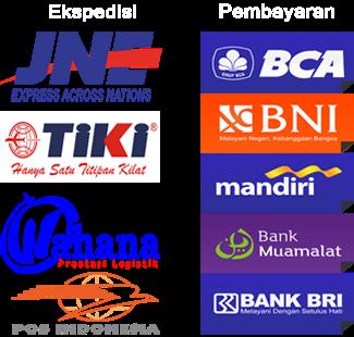logo ekspedisi dan bank