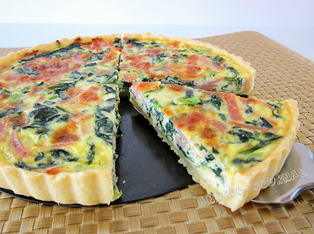 Ham Amp Spinach Quiche Anncoo Journal