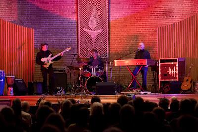 John Freund of Ridgefield Park with his band the John Freund Band. Photos by TOM HART/  FREELANCE PHOTOGRAPHER.