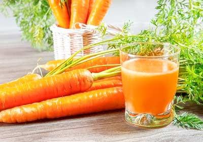 น้ำแครอท ประโยชน์, น้ำแครอท สรรพคุณ
