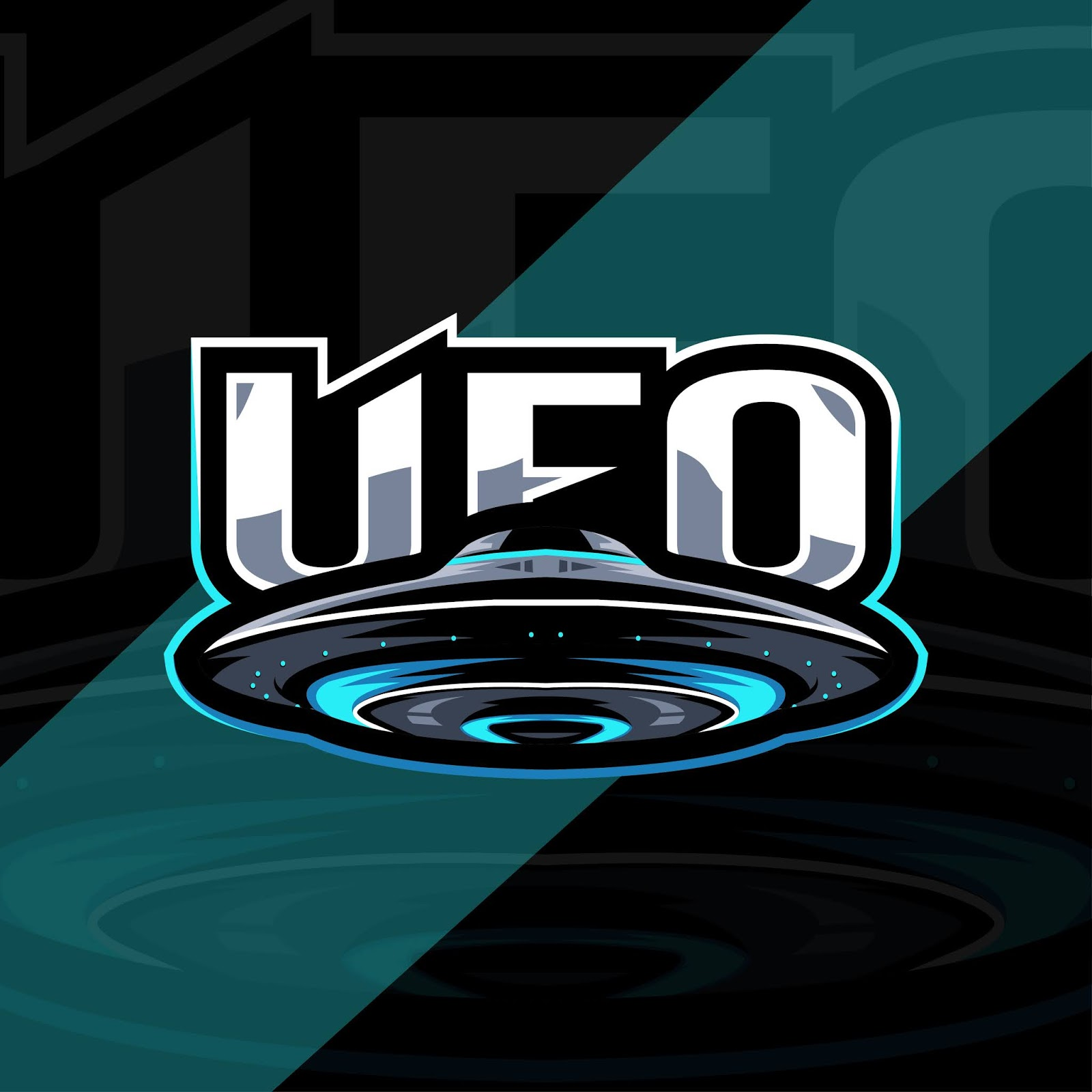 Ufo Mascot Logo Esport Free Download Vector CDR, AI, EPS and PNG Formats