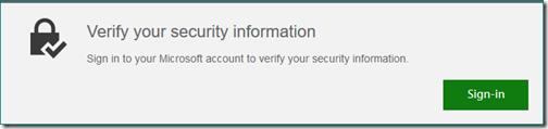 VerifySecurityInfotoMSA