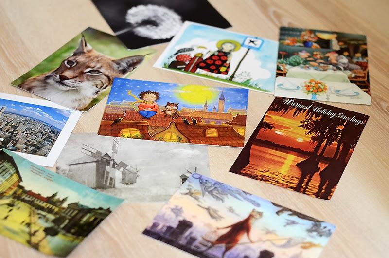 Хранение открыток посткроссинг идеи, днем