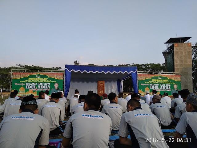 Shalat Iedul Adha 1439 H di Lapangan Rindam IV Diponegoro Magelang