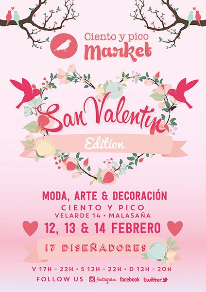 Ciento y Pico Market, San Valentín Edition