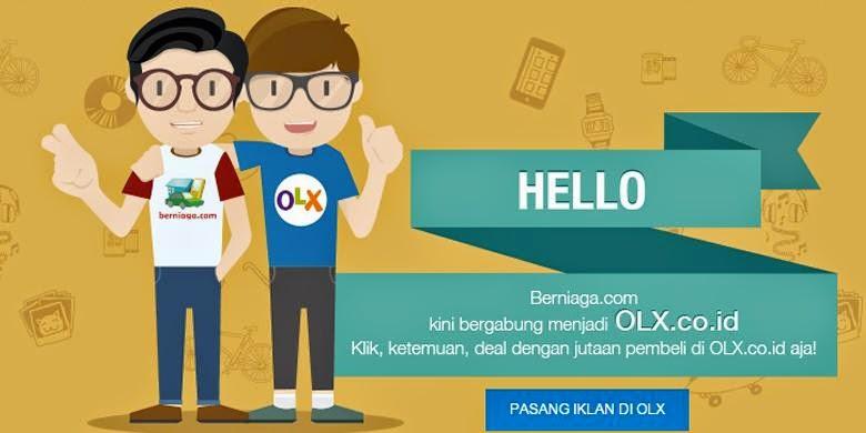 Berniaga.com kini bergabung dengan OLX.co.id.