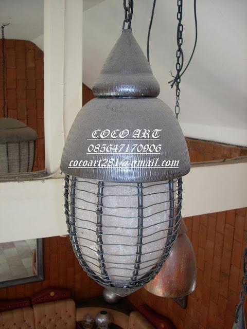 kerajinan-lampu-hias-tembaga-unik