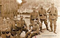 Soldiers from Infantrie Regiment von Winterfeldt (2. Oberschlesisches) Nr.23 at the Fort III in Neisse