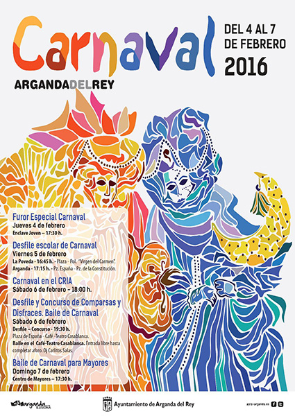 Carnaval 2016 en Arganda del Rey