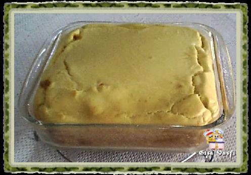 Torta de carne moida e mandioquinha