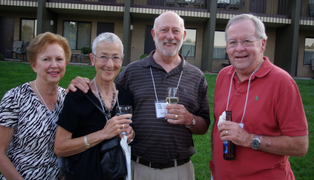 Margaret Toner, Betsy and Ray Baalman, Tom Reilly
