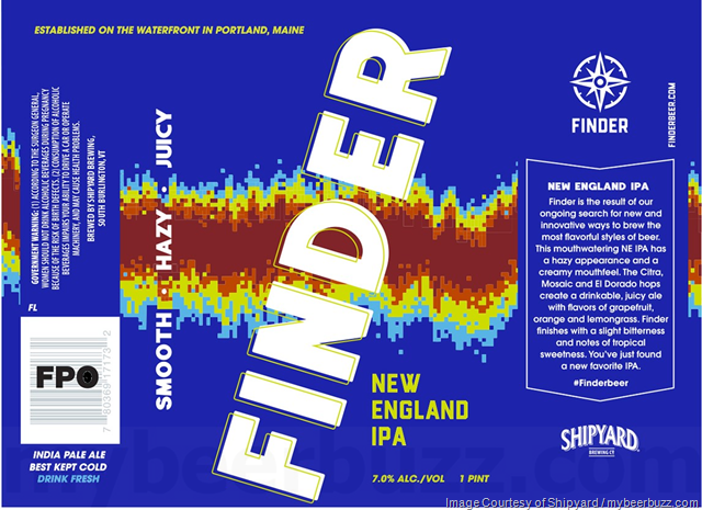 Shipyard Adding Finder New England IPA 16oz Cans