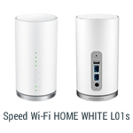 Speed Wi-Fi HOME WHITE L01s