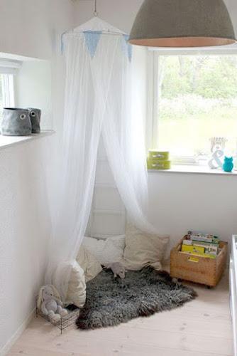 10 rincones de lectura en habitaciones infantiles