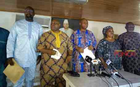 Davido's father and relatives rejects Governor Aregbesola's inquest into brother's death