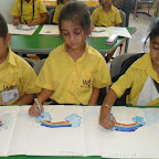 Rainbow Activity Done by SR.KG 2013-14