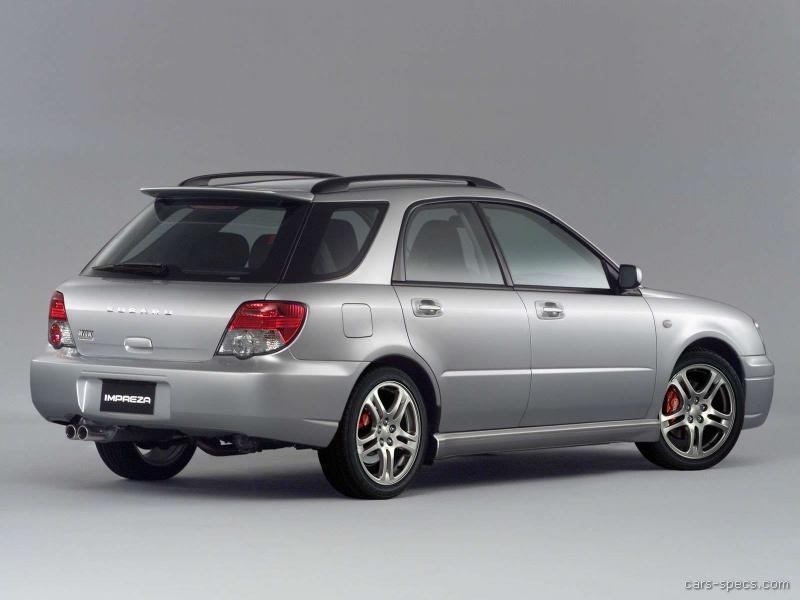 2004 subaru impreza wagon specifications pictures prices. Black Bedroom Furniture Sets. Home Design Ideas