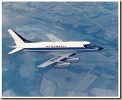 3 McDonnell Model 119 N119M inflight