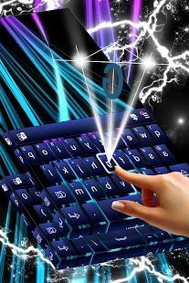 Neonová klávesnice - náhled