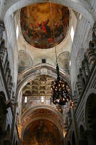 Ceiling, Duomo, Pisa