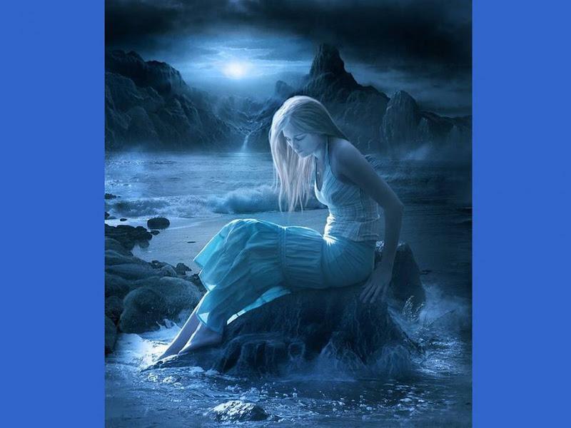 Girl In The Night Sea, Magic Beauties 3