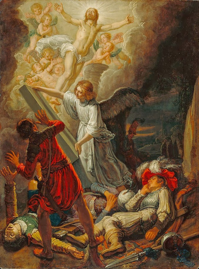 Pieter Lastman - The Resurrection - Google Art Project