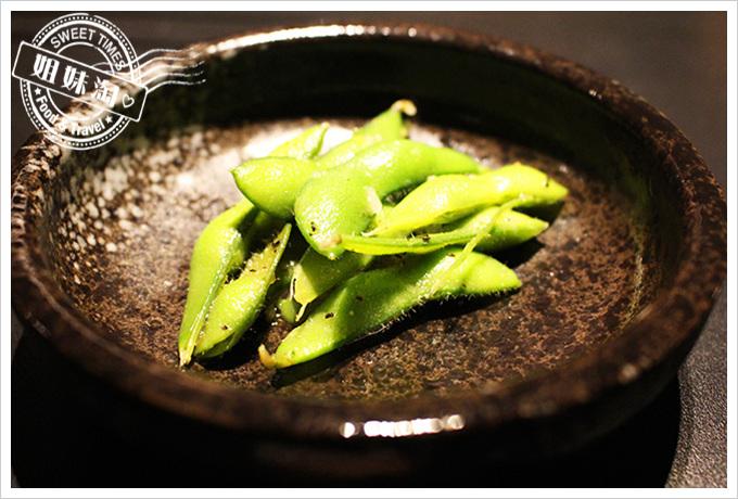 五角銀燒肉毛豆