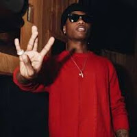 Wizkid poses for a picture shoot