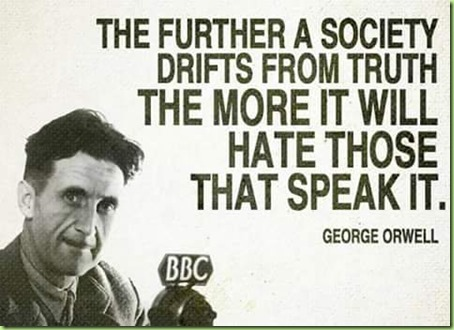 orwell truth and lies