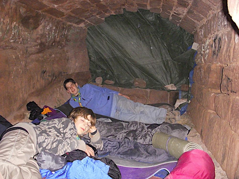 Sortida Castell Eramprunyà - Pioners 2009 - DSCN1045.JPG
