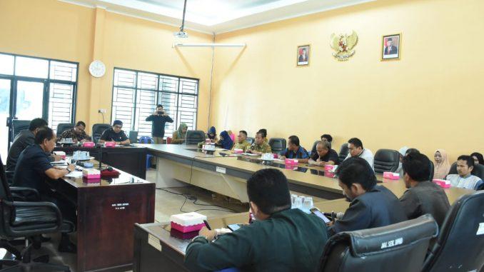 Carikan Solusi Pedagang Pasca Kebakaran, Komisi III DPRD Sinjai RDP Bersama Dinas Perindag