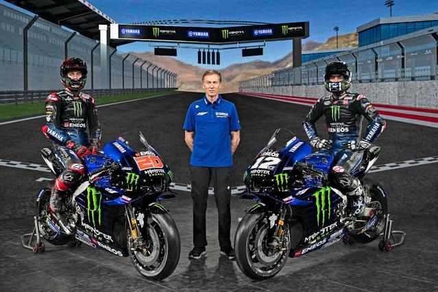 Perpanjang Kontrak, Yamaha Akan Ada Di MotoGp Hingga Musim 2026
