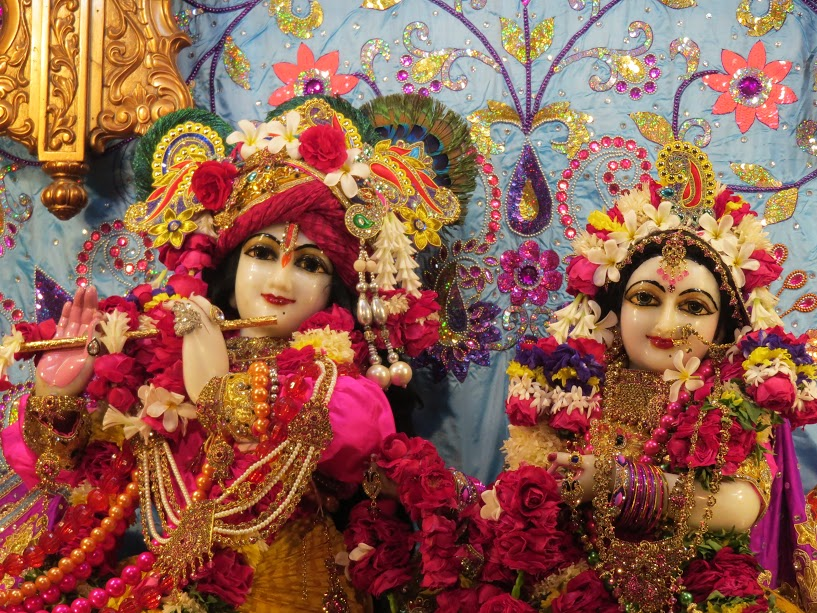 ISKCON Vallabh vidhyanagar Deity Darshan 04 jan 2017 (1)