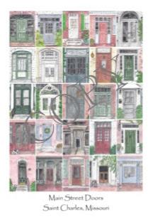 """Main Street Doors"" by Serena Boschert. 16x20 Print $25.00"