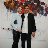 OIC - ENTSIMAGES.COM - Lewis-Duncan Weedon and Omar Hassan The Artist at the Omar Hassan - Breaking Through, Private View at ContiniArtUK in London 23rd April 2015 Photo Mobis Photos/OIC 0203 174 1069