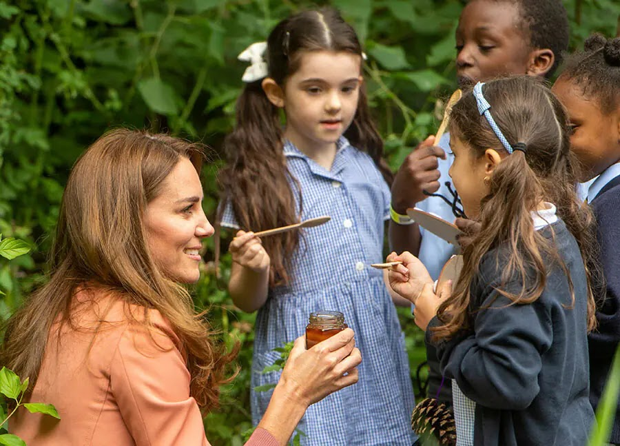 Kate Middleton Surprises Schoolchildren with Gift from Anmer Hall